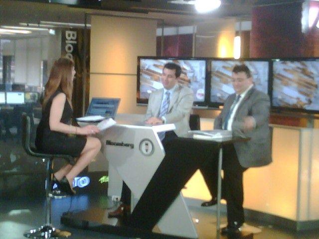 Erkan AYAN,Bloomberg HT TV canlı yayına konuk oldu.