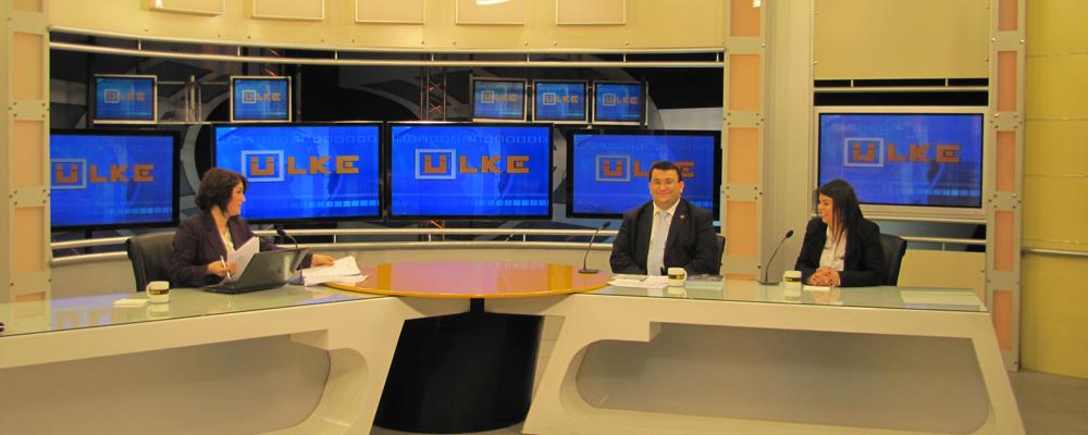 Erkan AYAN, ÜLKE TV canlı yayın konuğuydu.