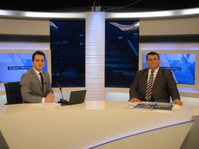 Erkan AYAN,TVNET TV canlı yayına katıldı.