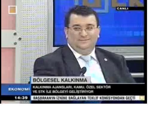 ERKAN AYAN ÜLKE TV CANLI YAYINDA