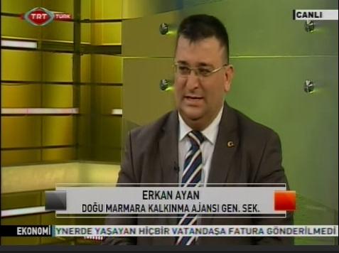 Erkan Ayan TRT Türk'te Canlı Yayında.